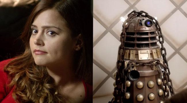 Clara Oswald and Dalek