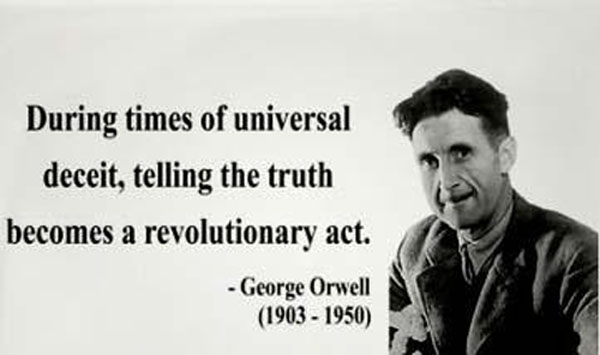 George Orwell quotation