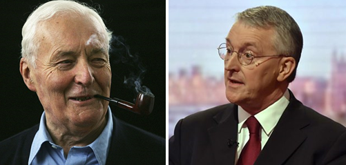 Tony and Hilary Benn