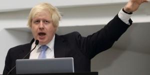 Johnson nazi salute