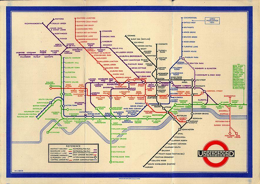 Original Tube Map