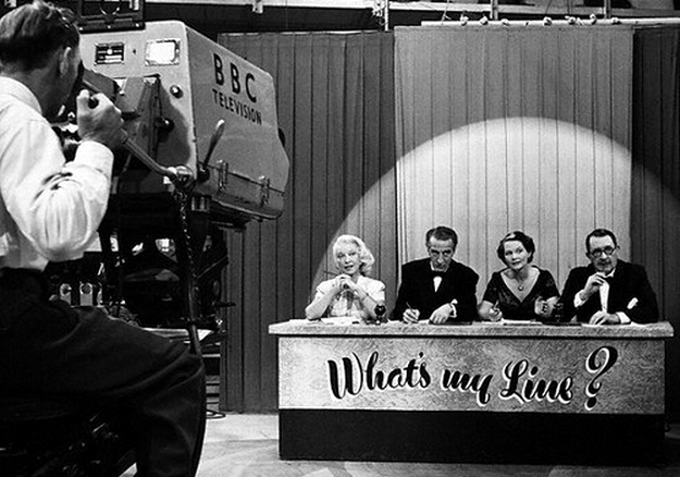 What's My Line 1950s panel show