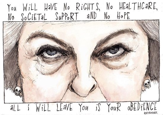 Theresa may obedience
