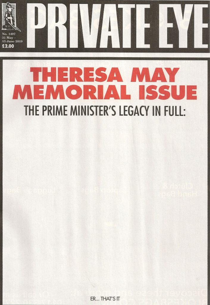 Private Eye cover