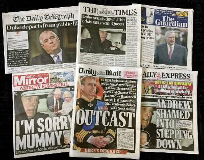 Andrew headlines